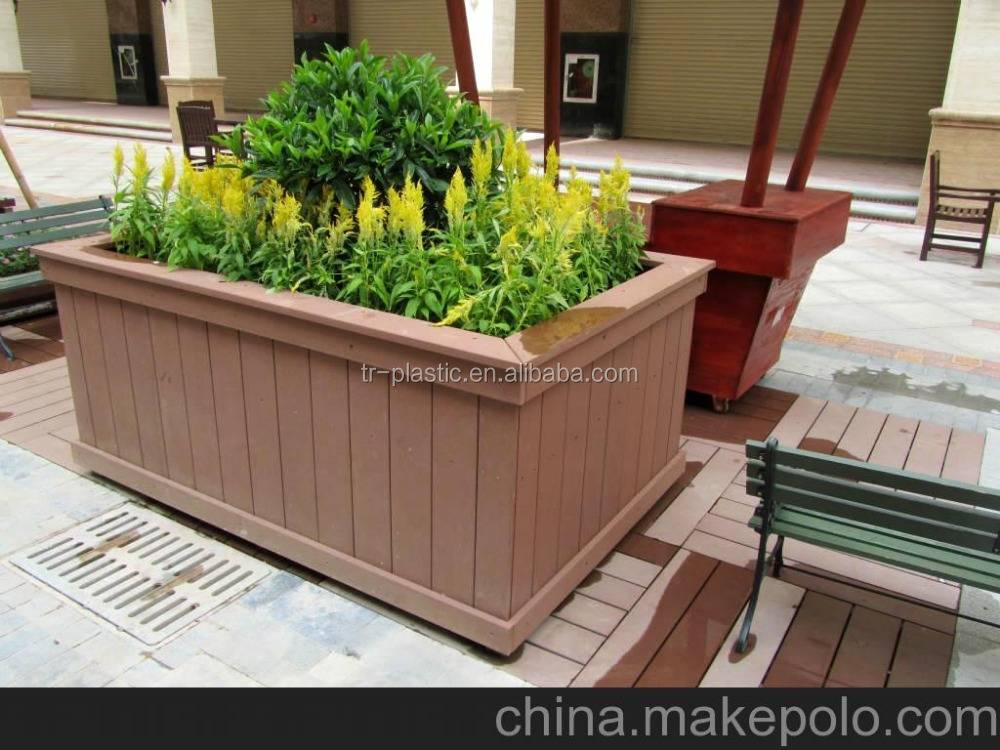 WPC flower pot flower box flower stand