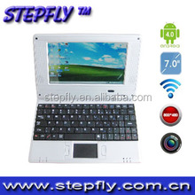 "SF-Y07 7""VIA VIA8880 ANDROID 4.0 wifi camera laptop"