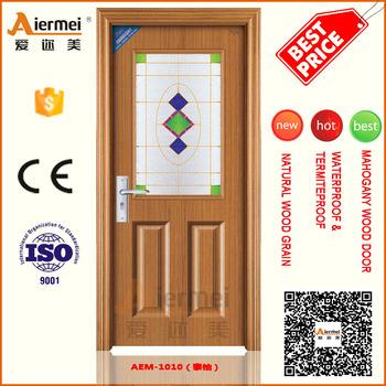 Modern european style commercial solid wood interior steel door half glass kitchen  door designModern European Style Commercial Solid Wood Interior Steel Door  . Kitchen Door Designs Photos. Home Design Ideas