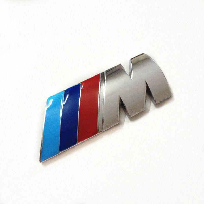 for bmw m emblem m badge sticker car rear trunk metal. Black Bedroom Furniture Sets. Home Design Ideas