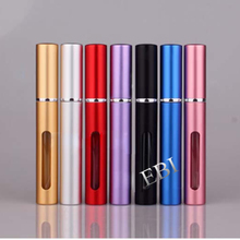 Round square perfume bottle pen with spray