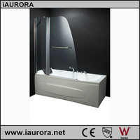 Economic Pivot Bath tub Screen With Tempered Glass