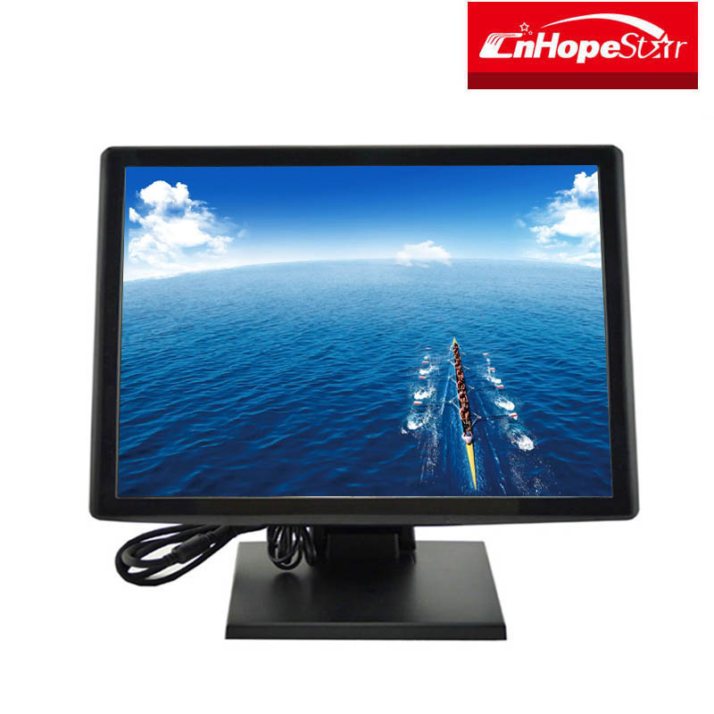 home TFT LCD oem usb or rs232 touch screen monitor 19 inch