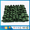 Eco-Friendly Garden Decorated Green Grow Bag Gardening Vertical Planter Bag Nontoxic Plant Felt Potting Bag