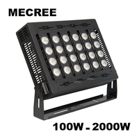 High Quality New Design UL DMX RGB Factory Price COB Construction Site High Lumen Outdoor 200 Watt LED Flood Light
