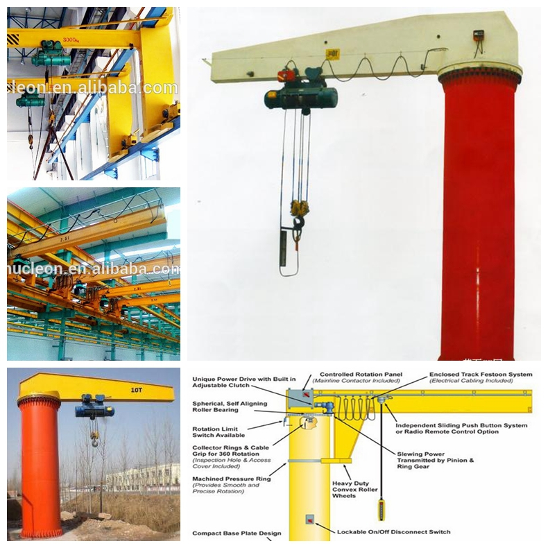 Nucleon Mini 1 Ton Wall Jib Crane Price