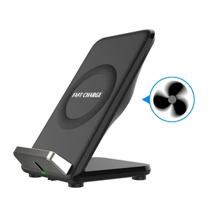 CE certified Real Fan 2 Port Dual USB qi wireless phone charger For Huawei