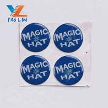 custom logo 3M adhesive epoxy dome sticker