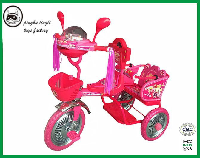 Alloy frame baby tricycle manufacture in China / 3 adjustable height kids tricycle / price children