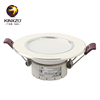 Residential white recessed led down light SMD dimmable shop lighting