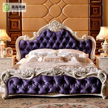 Letto Barocco.Classico Di Lusso King Size In Legno Mdf Royal Barocco In Stile