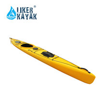 Best selling sea fishing plastic canoe kayak ocean