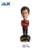 Customized moving Bobble head Resin Famous People Shake Head Doll