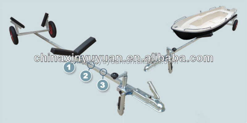 Professional inflatable boat trailer parts ranger boat trailer parts