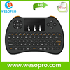 WESOPRO 2.4GHz wireless mini keyboard with touchpad model H9