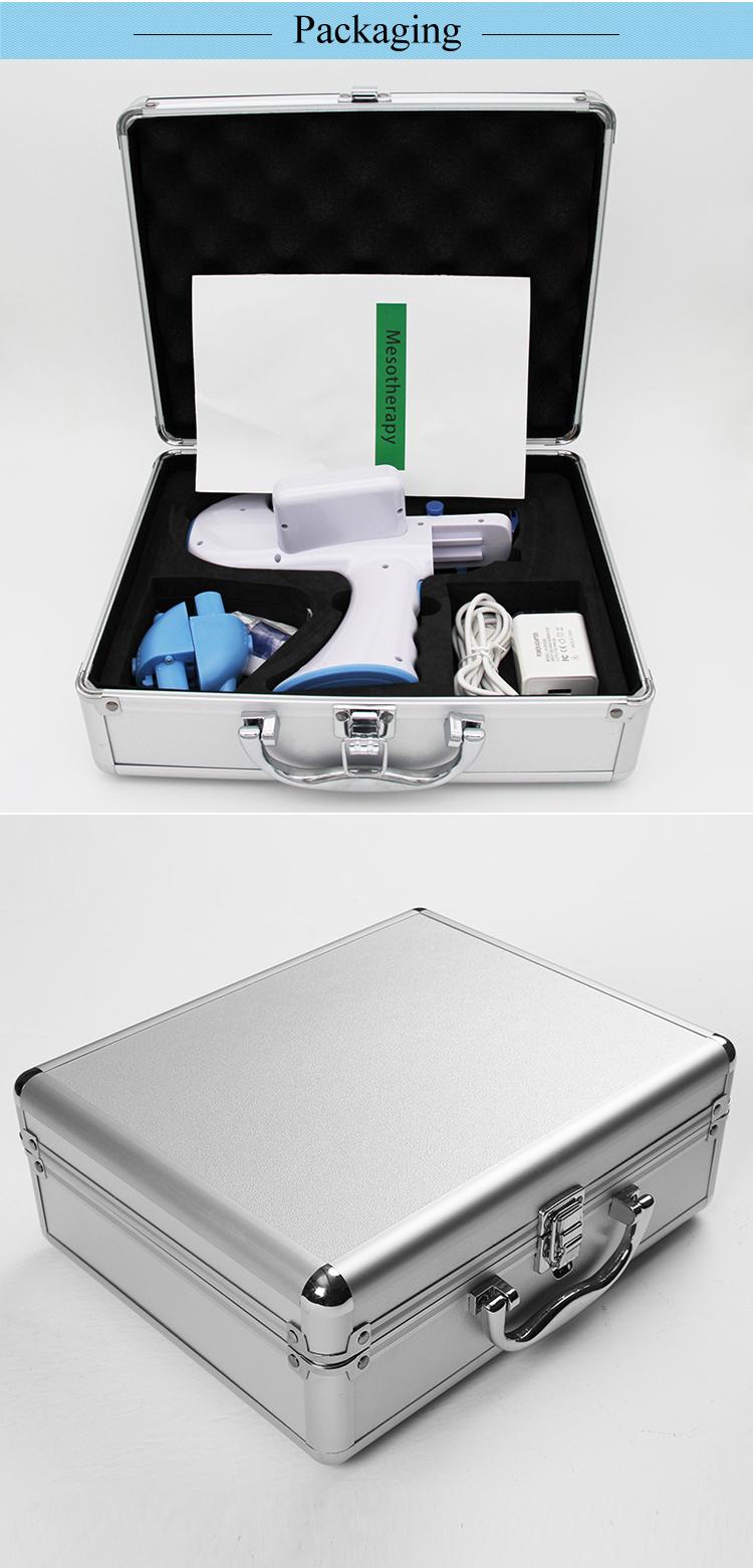 נייד מחטי משלוח מזותרפיה מזרק מים Mesogun עבור פנים הרמת עור הלבנת