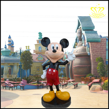 christmas party decorations mickey mouse sculpture resin crafts - Mickey Mouse Christmas Party Decorations
