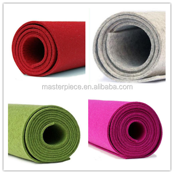 100% merino wool fabric prints wholesale felt fabric