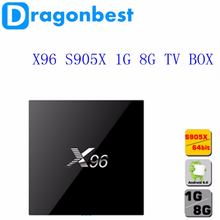 android tv box 2016 Android 6.0 4K google play store apps X96 s905x 1g 8g tv box 1080p full hd video songs