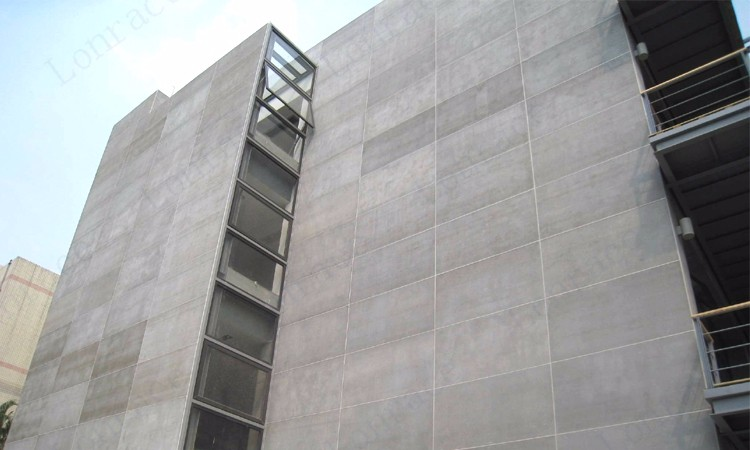 High Density Fiber Cement Board Siding Facade Panel