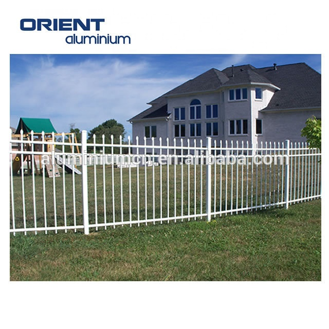 good quality square tube fence post for aluminum panel fence