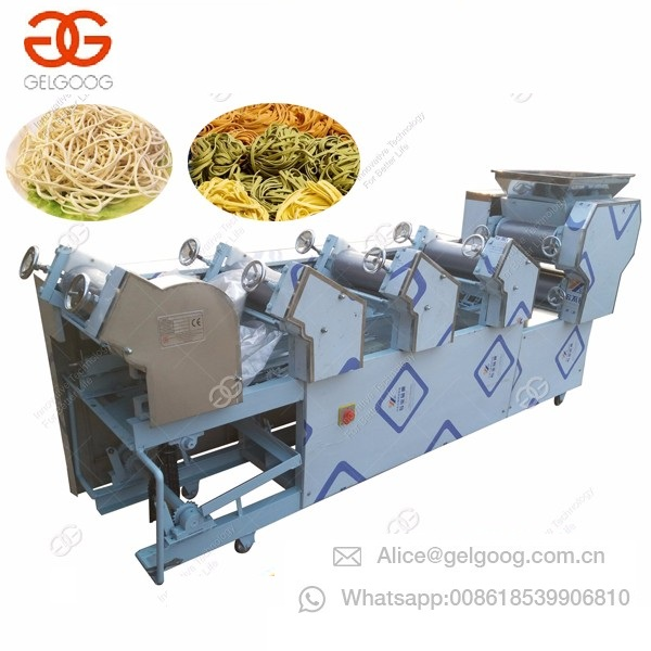 2018 New Model Automatic Restaurant Fresh Noodles Maker Making Machine Home Kitchen Noodle Processing Equipement Line
