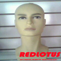 China supplier cheap male mannequin head with hair
