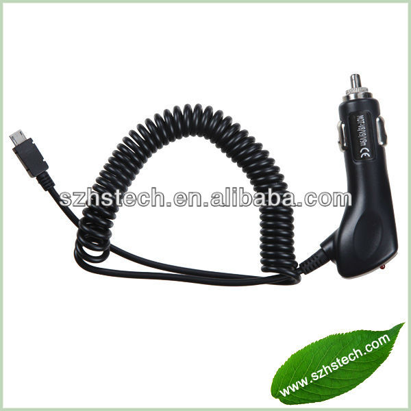 Mobile Phone Use and Standard USB Type 1A mini Micro USB Car Charger cable