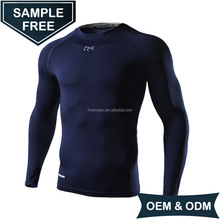 OEM/ODM Mens Long Sleeve Breathable Quick Dry Compression Shirt
