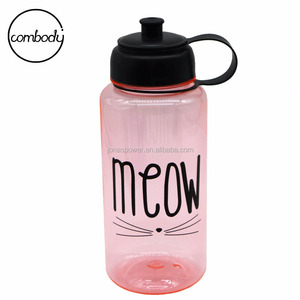 918c89013a783 Hot Sale 1000ml Victoria Secret Pink Water Bottle With Handle Portable  Drink Bottle BPA Free