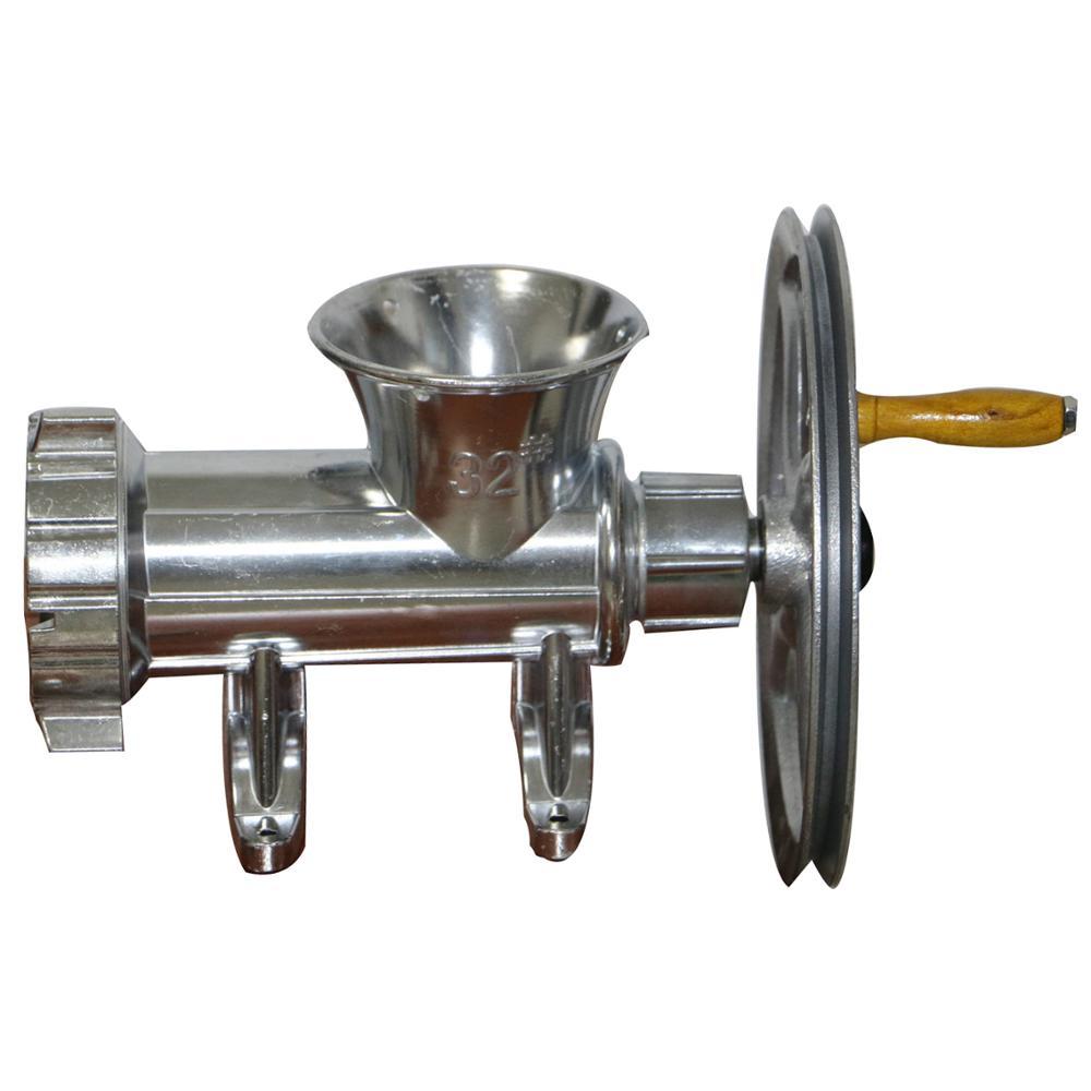 Hachoir à main manuel hachoir à viande en alliage d/'aluminium lame d/'acier Tool