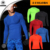 The new men 's long - sleeved body sculpting comfortable breathable quick drying sports tights MA01