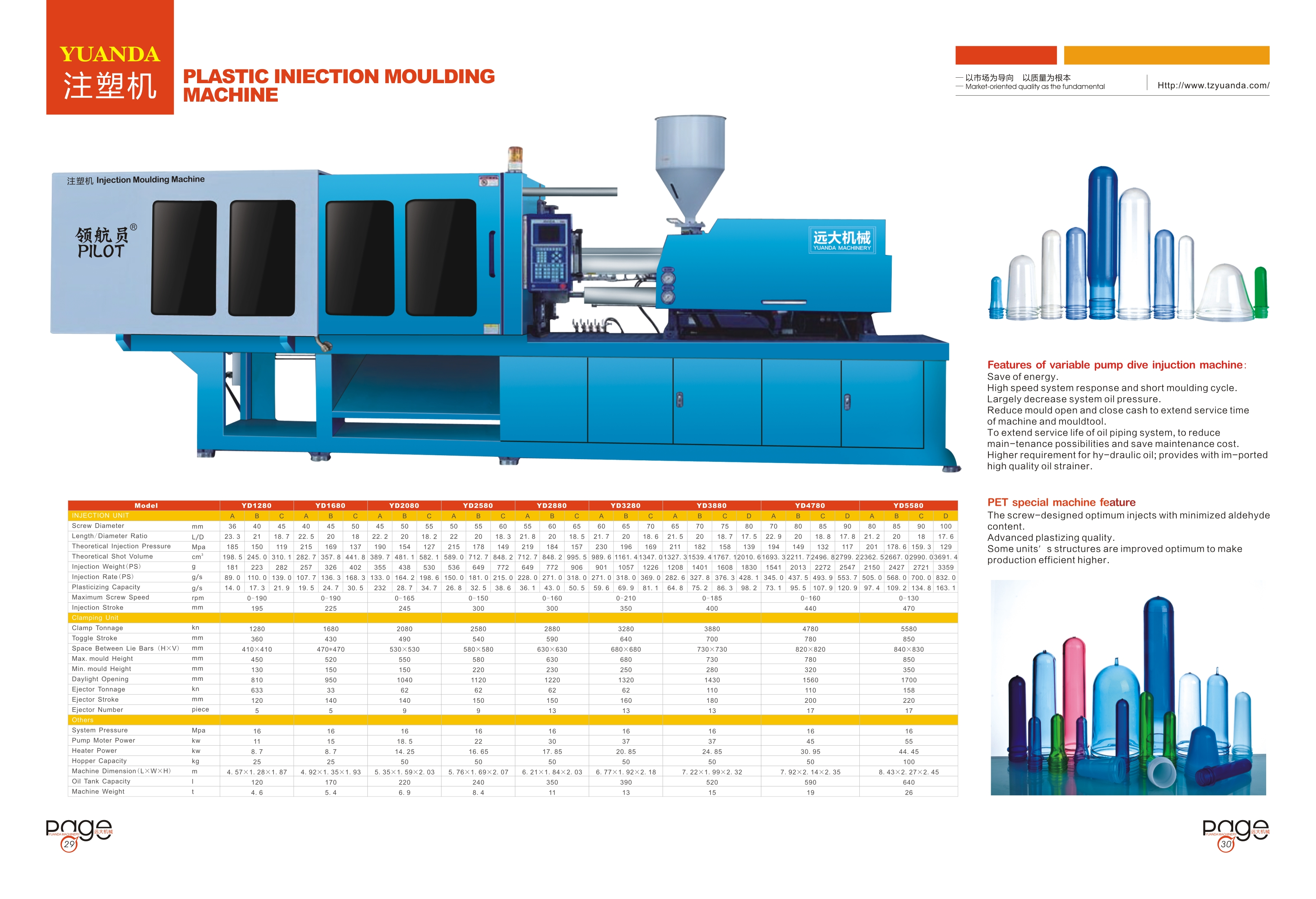 New arrival Plastic Injection Moulding Machine