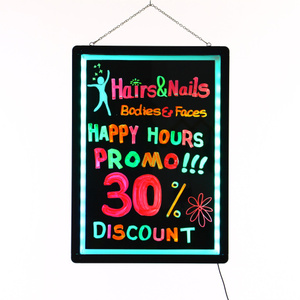 60x80 led board writing indoor electronic message board