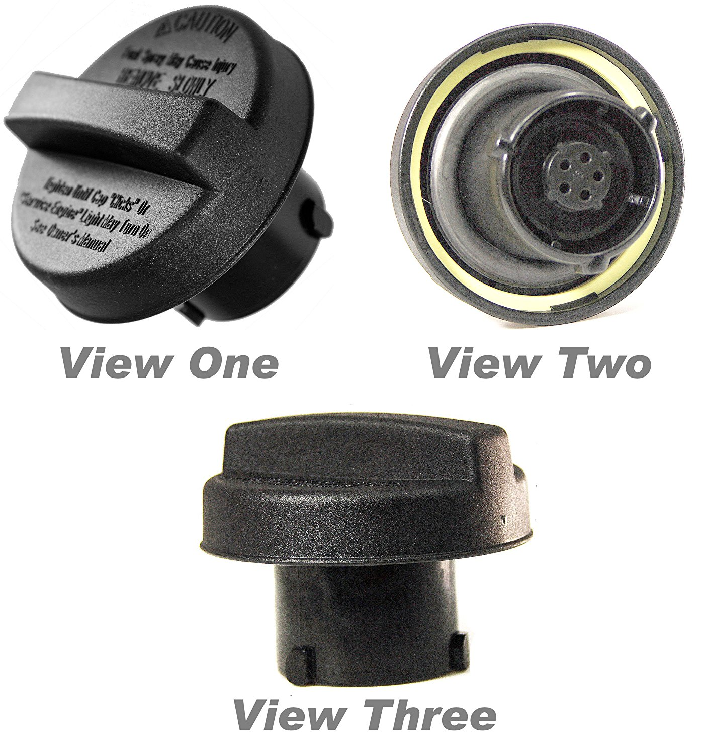 Get Quotations · APDTY 688014-GasCap Fuel Gas Tank Filler Neck Tube Pipe  Screw On Gas Cap Fits