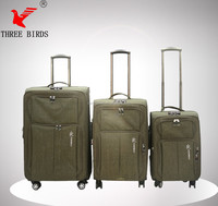 newest design waterproof travel luggage, airport luggage wrapping machine, trolley shopping bags with chair