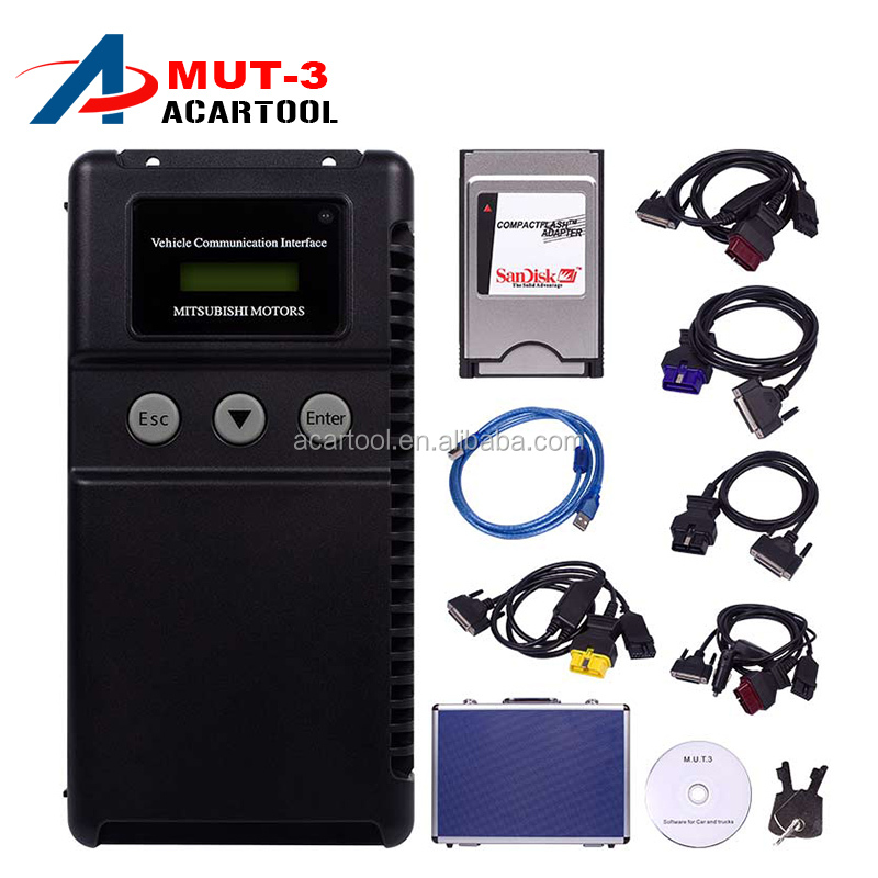 Top-Rated MUT-3 Support ECU Programmer Mitsubishi MUT3 MUT 3 Car and Truck Diagnostic Tool