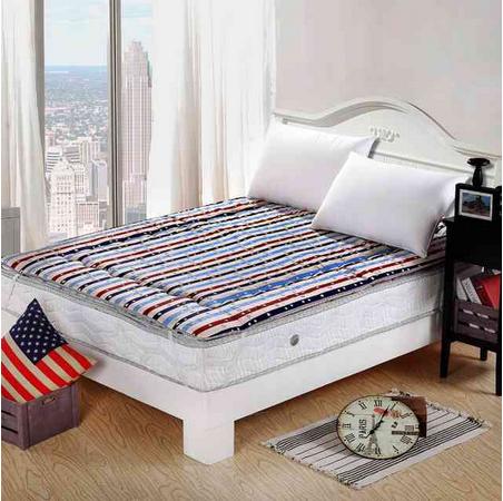 Hot Sale Pillow Twin Memory Foam Vibrating Mattress Pad