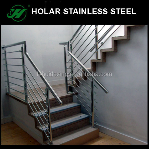 Hairline Stainless Steel Portable Stair Railings Product On Alibaba