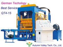 Machinery Investment Business of QT4-15 Un-Fired Cement Hollow Block Machinery with High Profit on Promotion Sales
