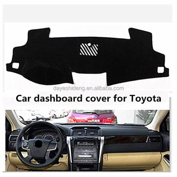 Car Sun Shade Decoration Polyester fabric Material Car Dashboard Mat Cover  for Camry Rav4 Camry Crown 90980be734e
