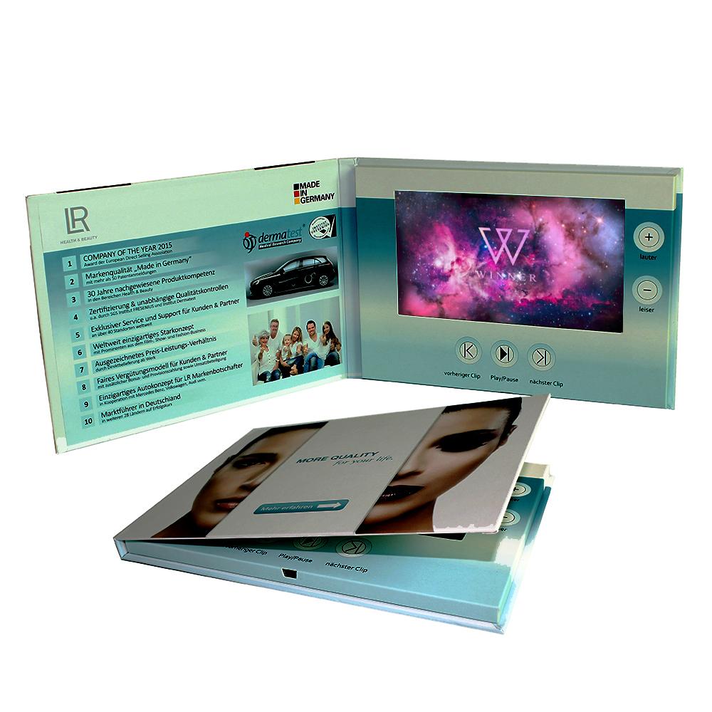 Mini Mp4 Video Player 24inch Video Greeting Card Mini Mp4 Video
