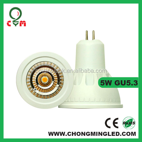 Hot! 5W smd GU10 led light 300-360 dimmable led spotlights