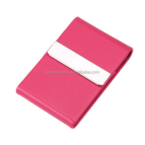 Leather Business Card Case with Magnetic Shut To Keep Business Cards in Mint Condition