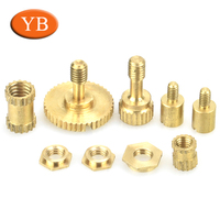 OEM hardware accessories CNC customized turning H59 brass screw bolt motorcycle parts