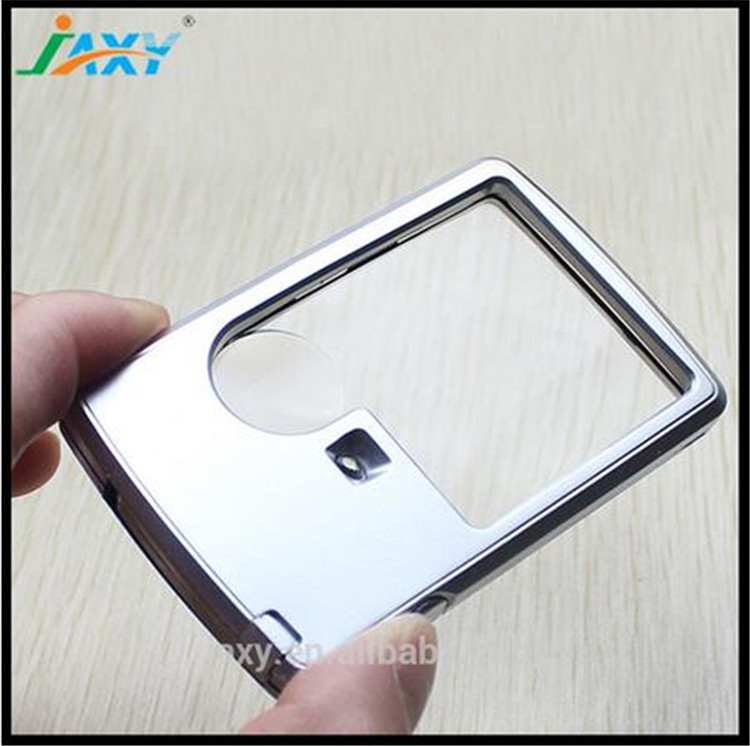 Credit Card 3x 6x LED magnifier business card magnifier led