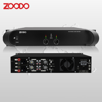 DC-2000 Two Channel Class D Power Amplifier For PA Speaker
