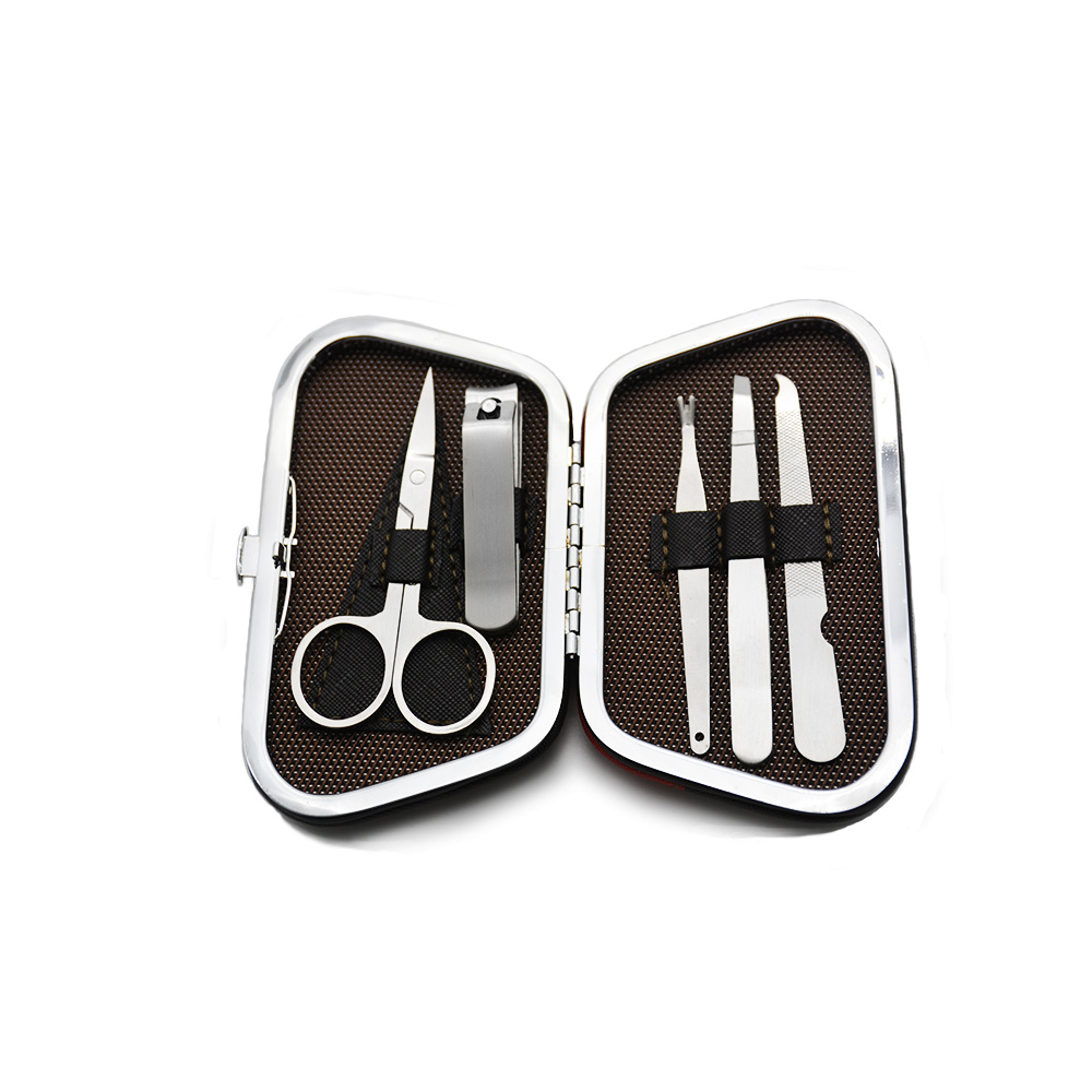 5Pcs/set Stainless steel Nail Art Manicure Set Nail Care Tools