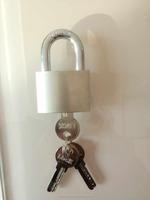 High Security Iron Door Locks With Computer Keys