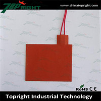 Silicone Oil filled heater parts, silicone heat pad flexible